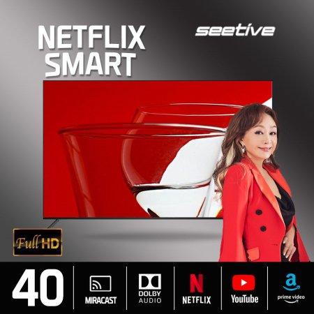 101.6cm FHD 스마트 TV PA400FHD-N (이젤스탠드3 블랙 기사설치, 수도권)