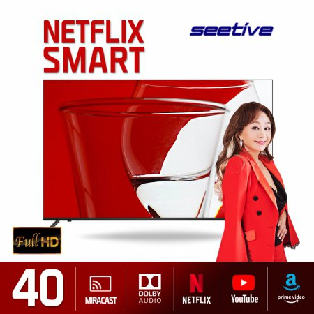 101.6cm FHD 스마트 TV PA400FHD-N (벽걸이형 상하좌우 기사설치, 수도권)