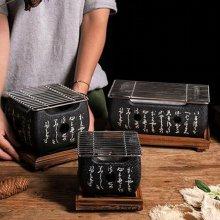 일본식 미니화로세트 고체연료 10개 중형 혼밥 화로