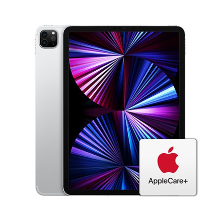 [AppleCare+]  아이패드 프로 11 3세대 Wi-Fi+Cellular 128GB 실버
