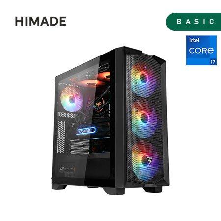 주연테크 게이밍컴퓨터 HIM-JYF-TH117RG37A 11세대 i7-11700K/RTX3070/RAM 16G/SSD 512G/프리도스