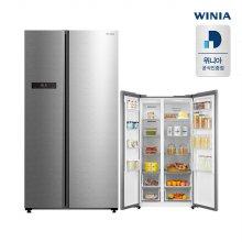 양문형 냉장고 WWR52DSMISO 540L