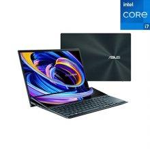 젠북듀오 Zenbook DUO A-UX482EA-11735T 노트북 인텔11세대i7 16GB 512GB Win10H 14inch (셀레스티얼블루)