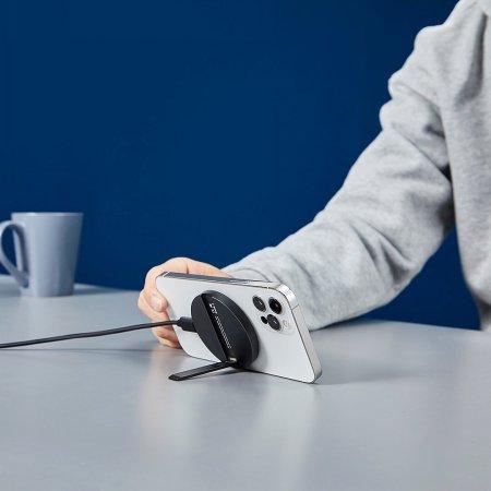 [행사특가] ESR 할로락 킥스탠드 거치대 무선충전기 아이폰12 맥세이프 호환