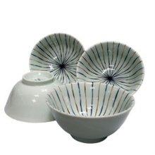 마루이 대접 세트 면기 국그릇 공기 접시 식기 4p